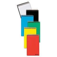 Wirebound Pocket Memo Book, Narrow Rule, 3 X 5, White, 50 Sheets By: Ampad