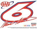 WinCraft Mark Martin Number AAA Number Ultra Decal