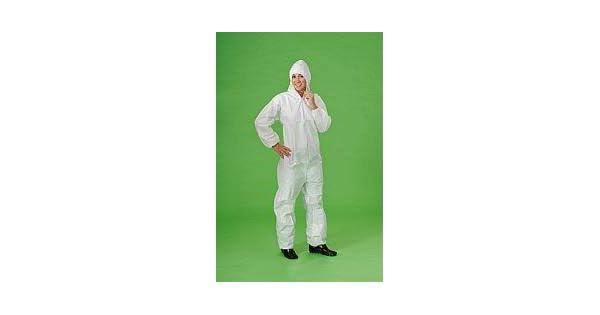 Amazon.com: Tyvek traje con capucha XXL: Jardín y Exteriores