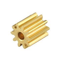 CNC Brass Pinion 10T 0.4M 1.48mm Bore: Blade 130 X