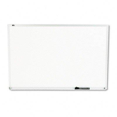 Quartet Melamine White Board, 3 ft x 2 ft, Silver Aluminum Frame (QRTS533)