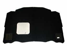 Mercedes w124 early Hood Liner Pad heat Insulation foam OEM engine lid isolation