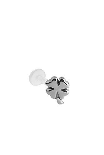 (Bioflex Labret Nose Ring Stud 316L Surgical Steel 3/16