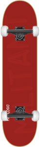 Mini Logo Skateboard 127/K-12 - 8.0 Maroon w/Black
