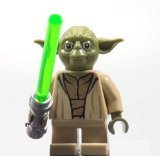 LEGO Yoda Star Wars minifigure - Yoda Chronicles Clone Wars 75017