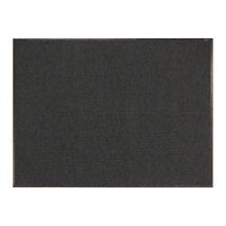 Tough Rib Floor Mat, 3ft. x 4ft., Charcoal Office Depot Floor Mats