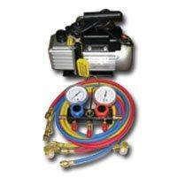 Inc FJCKIT6 Vacuum Pump And Manifold Gauge Sett FJC