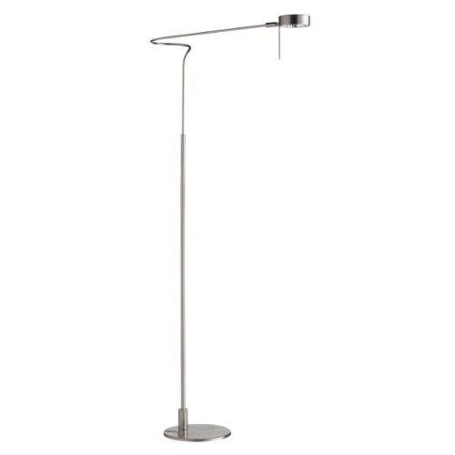 UPC 065214530040, Dainolite DLHA530F-SC Satin Chrome Floor Lamp