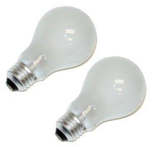 Bulbrite 25A19F/12 25Watt A19 Frost 12 Volt Incandescent Bulbs - 4 Pack ()