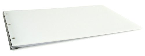 - 11x17 Acrylic Screw Post Binder, White (525180)