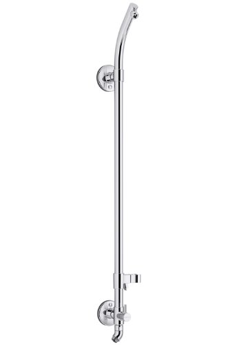 KOHLER K-45905-CP Hydrorail-S Bath and Shower Column, Polished Crome ()
