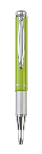 Zebra Pen 72762 Telescopic Brights Ballpoint - Light Green