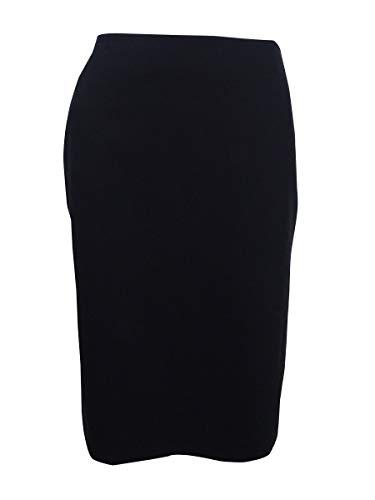 Tommy Hilfiger Women's Tailored Pencil Skirt (4, Black)