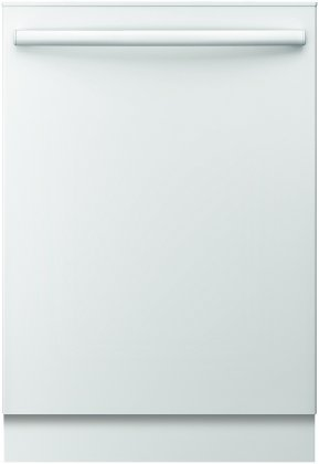 """Bosch SHX3AR72UC Ascenta 24"""" Comprehensive Fully Integrated Built-In Dishwasher with 6 Wash Cycles Quiet 50 dBA 14 Place Settings Delay Start 24/7 Overflow Chink Protection 50 dBA Silence Rating in"""