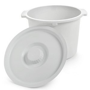 Bariatric Commode Bucket - Invacare Replacement Commode Pail and Lid