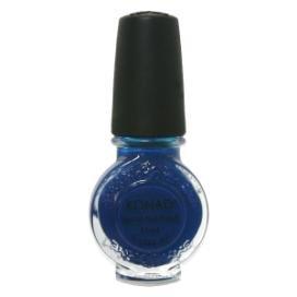 ピニオン急ぐ目に見えるお急ぎ KONAD コナド スタンピングネイルアート 専用ポリッシュ s22 ブルー(11ml)