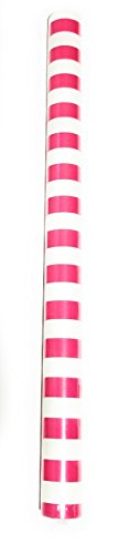 Pink Stripe Gift Wrap, Nautical Wrapping Paper, Baby Shower Gift Wrap, Sweet Sixteen Gift Wrap, Graduation Gift Wrap, Back Drop,]()