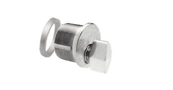 - C.R. LAURENCE DRA20BS CRL Brushed Stainless Mortise Thumbturn Cylinder