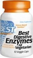 Meilleur Meilleur enzymes digestives de Docteur, Capsules de légumes, 10-Count