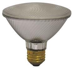 SYLVANIA CAPSYLITE HALOGEN FLOOD LAMP, PAR30, 50 WATT, 120 VOLTS, MEDIUM BASE, DOUBLE LIFE