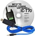RT Systems USB Cable & RT Systems Software IC-T70A
