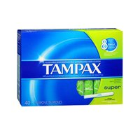 Tampax Tampax Super - 40 Count