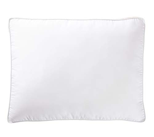 - AmazonBasics Down-Alternative Gusseted Pillows with Microfiber Shell - Standard, 2-Pack
