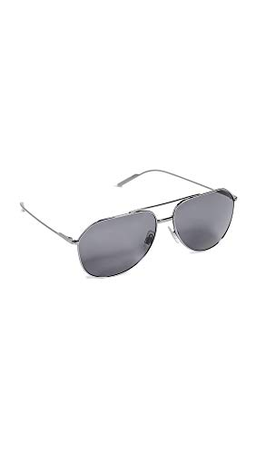 Dolce & Gabbana Men's DG2166 Polarized Sunglasses, Gunmetal/Grey, One Size Dolce And Gabbana Mens Suits