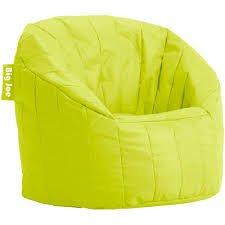 Big Joe Lumin Chair LEMON LIME