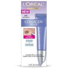 L'Oreal  Collagen Filler Eye Illuminator Targeted Eye Treatment,  0.5-Ounce Tube (Wrinkle Decrease Filler Collagen)