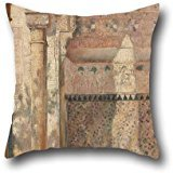 18 X 18 Inches / 45 By 45 Cm Oil Painting Tom Roberts - Basking - A Corner In The Alhambra Throw Pillow Covers ,both Sides Ornament And Gift To Club,outdoor,drawing Room,dance Room,bf,chair