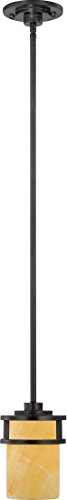 (Quoizel KY1508IB Kyle Rustic Mini Pendant Lighting, 1-Light, 100 Watts, Imperial Bronze (7