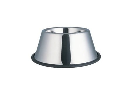 Bulk No-Tip Stainless/Steel 32oz Cocker Bowl - 12Pack (4Cups)