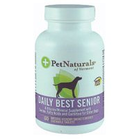 PET NATURALS OF VERMONT DAILY BEST SENIOR FOR DOG, 60 TAB