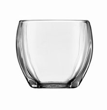 Libbey Tapered Square Votive Holder, 3.29-Inch Tall, Clear, Set of 12