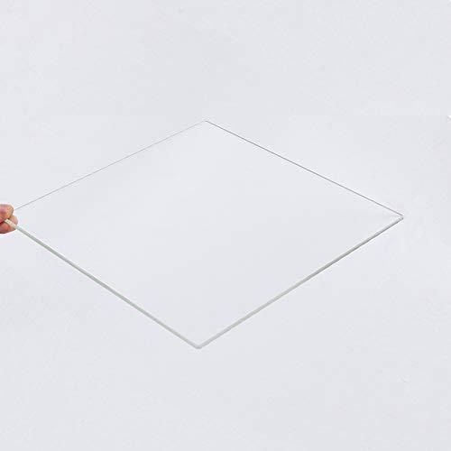 Placa de cristal de borosilicato para impresoras 3D, de 235 mm x ...
