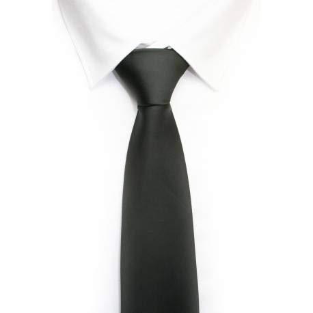 VIZENZO corbata clasica negra: Amazon.es: Ropa y accesorios