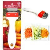 Kinpira Julienne Peeler Stainless Steel Vegetable Fruit Potato Cutter Slicer New by KINPIRA (Image #2)