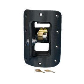 Flagpole Door & Frame For Internal Halyard with Cam Cleat Black by Eder Flag