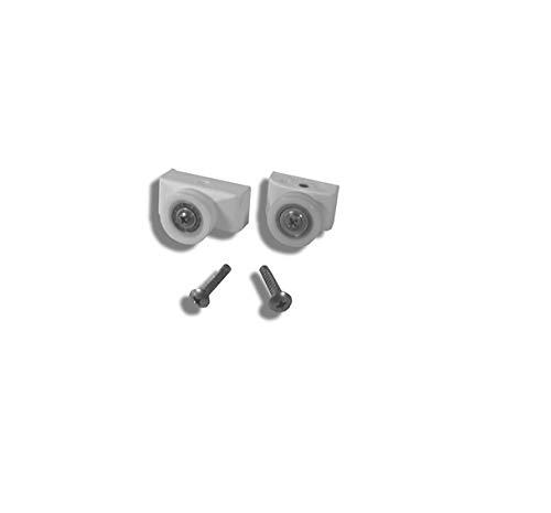 Repuesto Novellini Star R versi/ón 2/ajustes Rodamientos puerta DX r08har-26/blanco
