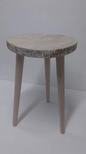Rebajas oferta mesita loncha y patas de madera rodaja tocon árbol ...
