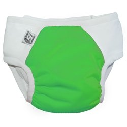 Trickle Free Training Pants (Super Undies Snap-On Training Pants, Fearsome Frog (Green),)