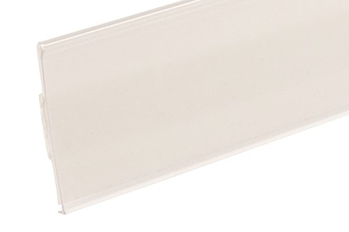 Self 200 Adhesive (FFR Merchandising 4403757000 DS-200 Extra-Duty Self-Adhesive Data Strip Label Holder, 1-1/4