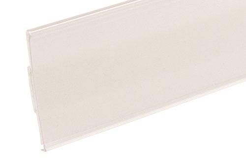 FFR Merchandising 4403757000 DS-200 Extra-Duty Self-Adhesive Data Strip Label Holder, 1-1/4