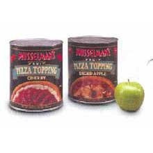 Knouse Foods Musselmans Cherry Pizza Topping, 114 Ounce -- 6 per case.