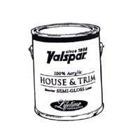 (Valspar 27-4302 QT Brand 1 quart Tint Base Medallion Exterior Latex House & Trim Paint Semi)