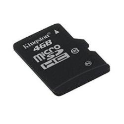 Kingston 4 GB microSDHC Class 10 UHS-1 Memory Card with Adap