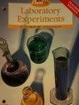 Laboratory Experiments, Holt, Rinehart and Winston Staff, 0030519292