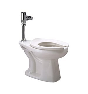 Zurn Z5665.258.00.00.00 1.28 gpf Floor Mount Elongated Toilet System with Top Spud, Diaphragm Manual Flush Valve by Zurn