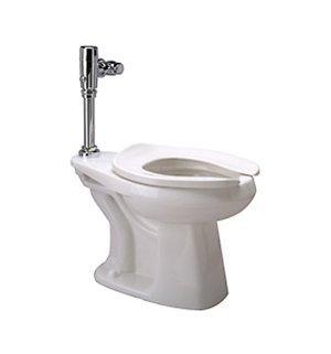 Zurn Z5665.258.00.00.00 1.28 gpf Floor Mount Elongated Toilet System with Top Spud, Diaphragm Manual Flush Valve